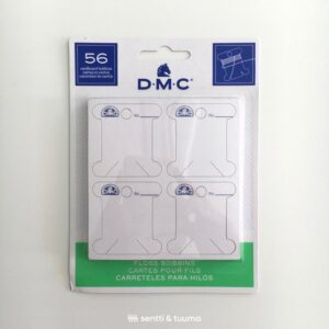 DMC embroidery thread cardboard bobbins
