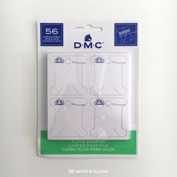 DMC embroidery thread cardboard bobbins